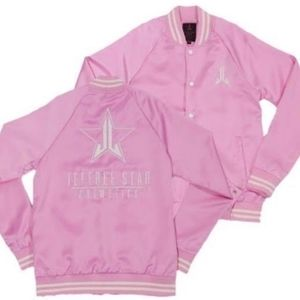 RARE Jeffree Star Pink Member's Jacket Size: M